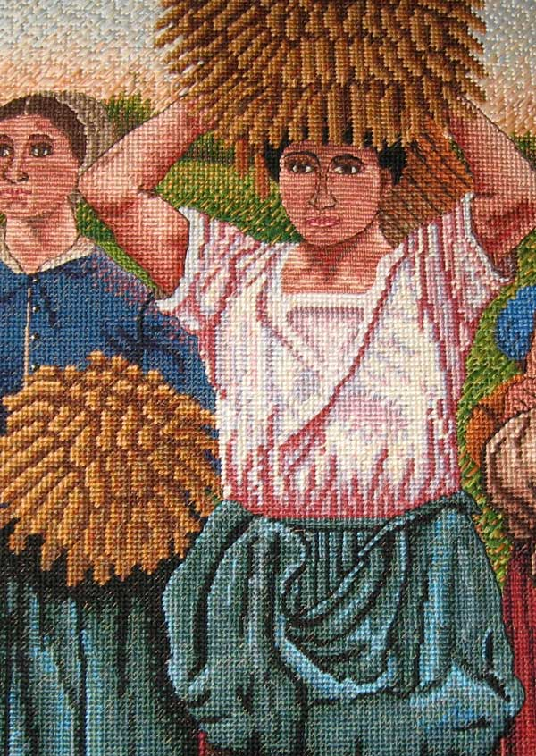 detail of Gleaners