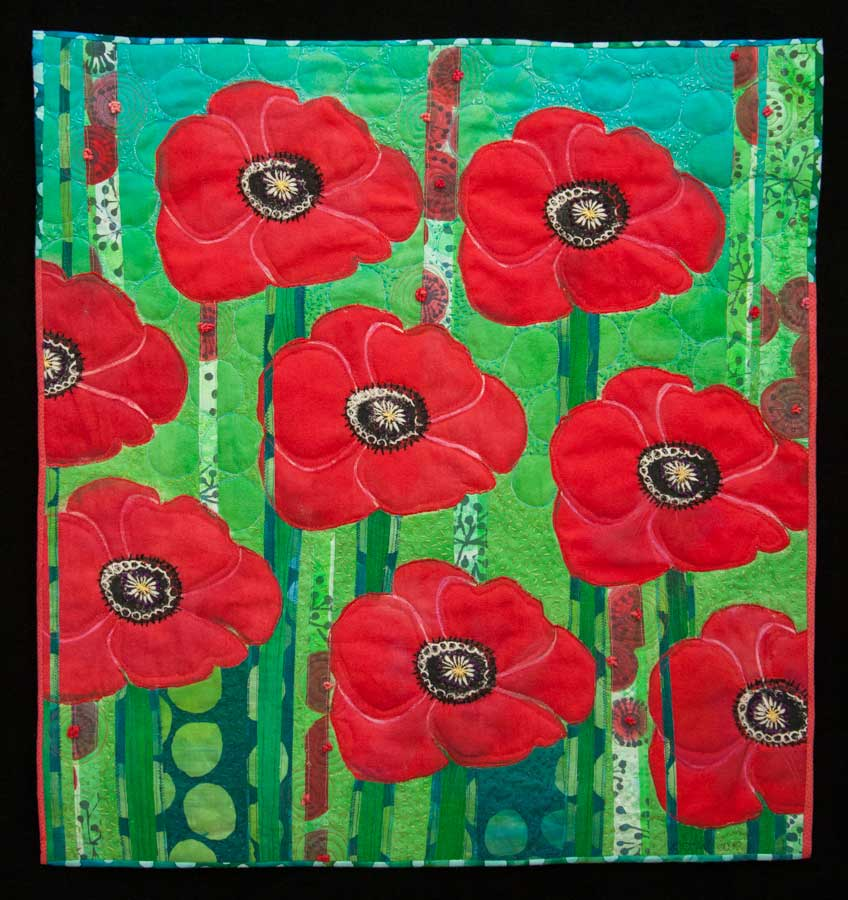 Poppies by Catherine Worthington