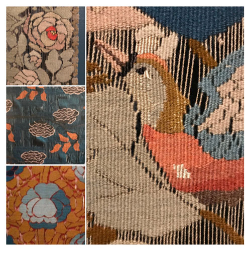 Frida Hansen tapestry work