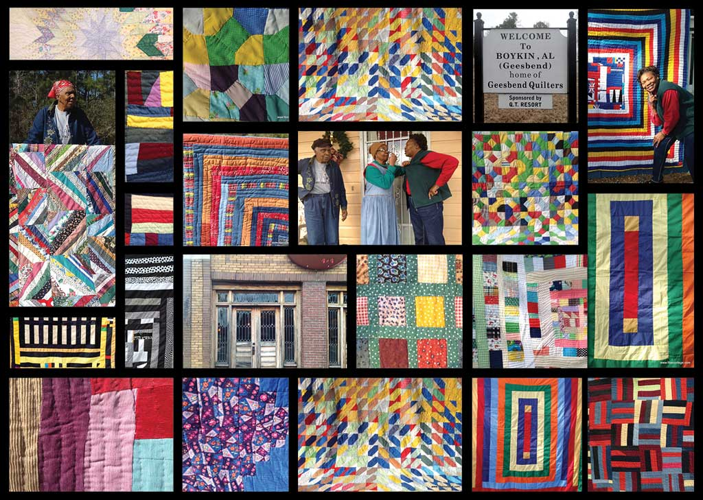 Gees Bend quilts and quilters