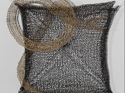 10-Katharine Cobey knitted wire