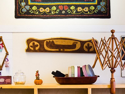 Marion Brown Rug Hooking Studio